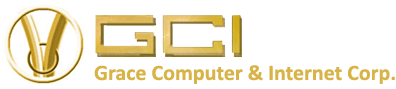 Grace Computer and Internet Logo
